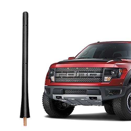 VOFONO 7 Inch Rubber Replacement Antenna fits 2009-2019 Ford F150 & Dodge Ram 1500
