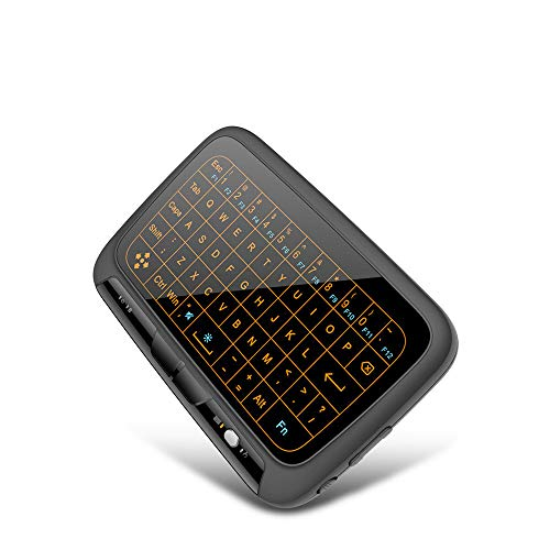 CaoQuanBaiHuoDian Faltbare Bluetooth-Tastatur Ultra-dünne drahtlose Bluetooth Tastatur 2.4G Mini Wireless Touchpad Beleuchtete Tastatur Vollbild Touch-USB-Empfänger Faltbare Kabellose Tastatur