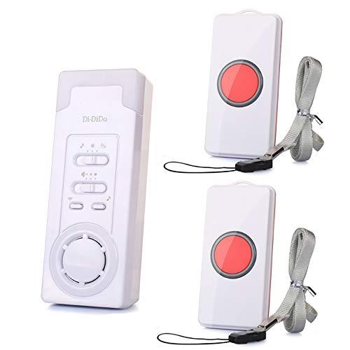 Mobiler Alarm Notruf Knopf Funk Senioren Krankenpflege Hausnotruf Pflege berfall (1 in 2)