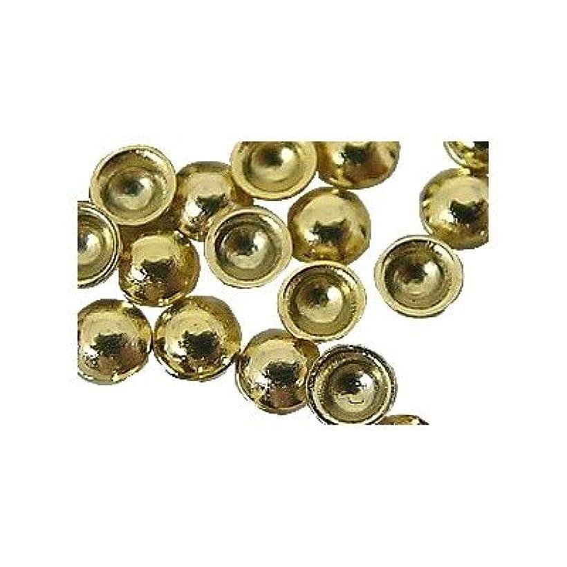 接続端効率的にピアドラ スタッズ 2.0mm 100P ゴールド