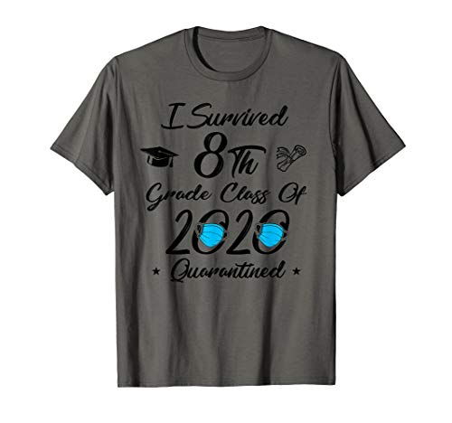 8th Grade Class Of 2020 Quarantined Graduate Senior T-Shirt