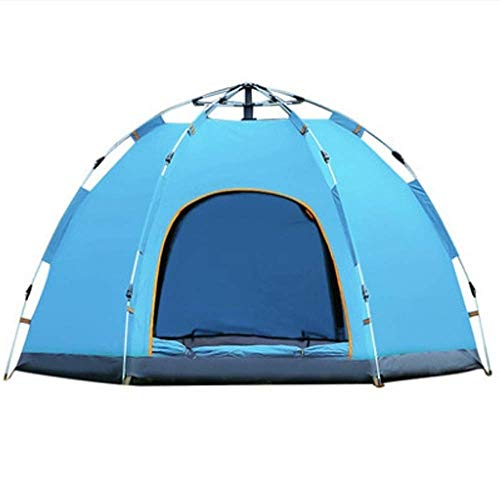 Nuokix Camping Tent, Lightweight Backpack Windproof Camping Tent Awning Family Tent, Suitable for Outdoor Camping Family Beach 240 * 240 * 135cm