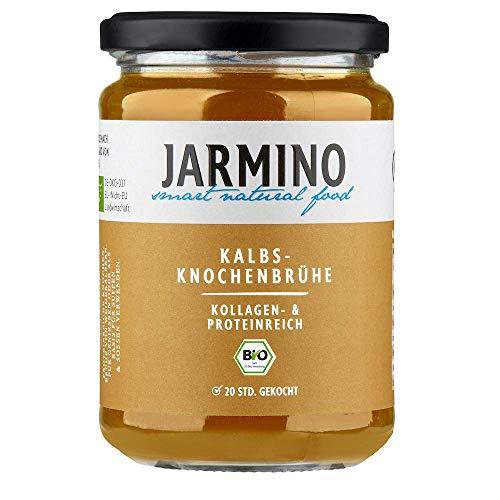 BIO Knochenbrühe Kalb   JARMINO   Kollagen- & Proteinreiche Bone Broth (6x 350ml)   Enthält natürliches Protein, Collagen, Hyaluron & ist low carb