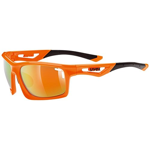 Uvex Erwachsene Sportstyle 700 Sportsonnenbrille, Orange, One Size