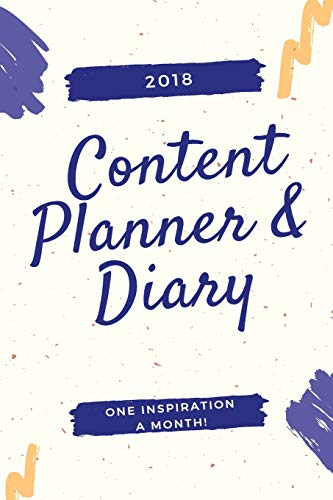 2018 Content Planner & Diary
