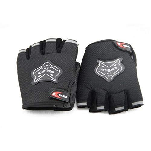 LLZGPZST Tactische handschoenen Militaire tactische korte halve vingers/vingerloze handschoenen voor heren jacht schieten Paintball Airsoft rolstoel kinderen rolschaatsen