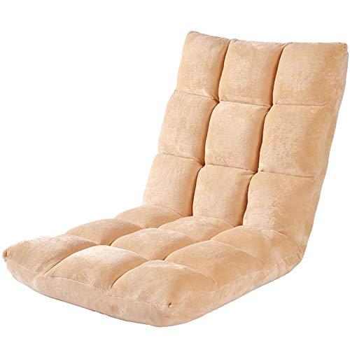 Sillón Plegable para Juegos,Ajustable, sofá Perezoso, sillón Acolchado, fácil de almacenar