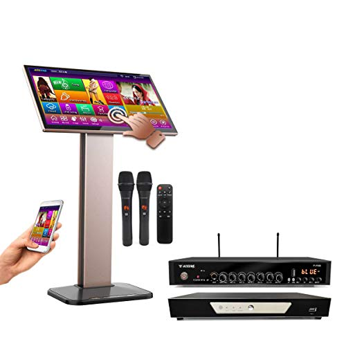 TSRV57M-4TB HDD,90K English +Filipino + Spanish Songs, 22, Touch Screen Karaoke Player,Wireless Microphone Input, ECHO Mixing, Free Microphone and Remote Controller,