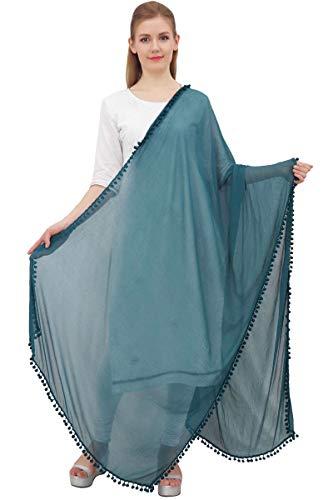 Phagun Indiase vrouwen Chiffon Dupatta aanzet verpakking lange stola sjaals Chunni