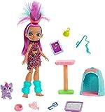 Cave Club Wild About Cats con muñeca, mascota y accesorios para niños y niñas +4 años (Mattel GNL95)