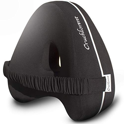 Cruchlorent Cuscino per Gambe e Ginocchia di Seconda Generazione con Tessuto 100% Cotone.