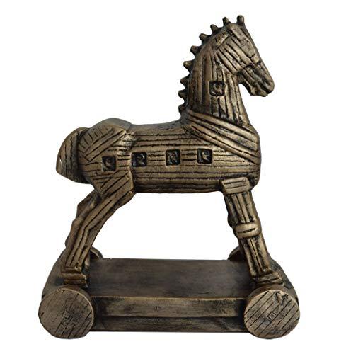 Talos Artifacts Trojan Horse Sculpture Statue Ancient Greek Mythical Battle Homer iliad Odysseas