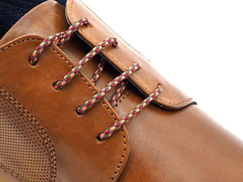 Remark Exclusive Schnürsenkel Barcelona   Elegante Schuhrriemen für Lederschuhe   Businessschuhe stylische Schuhbändel   Schnüre für Schuhe
