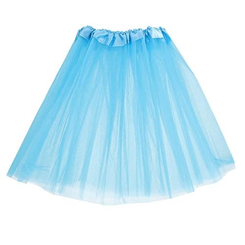 TOYANDONA Falda de Tul para Niñas Falda de Princesa Princesa Encaje Tutú de Tul Vestido para Bebés Pequeños Cumpleaños Fiesta de Bebé Disfraz de Navidad