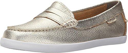 Cole Haan Damen Pinch Weekender Loafer Slipper, Gold (Soft Gold Metallic Leather Soft Gold), 40 EU