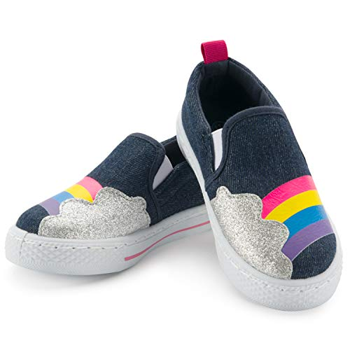 White Classic Slip-on Shoes Low Top Canvas Shoes For Toddler/Women/Men