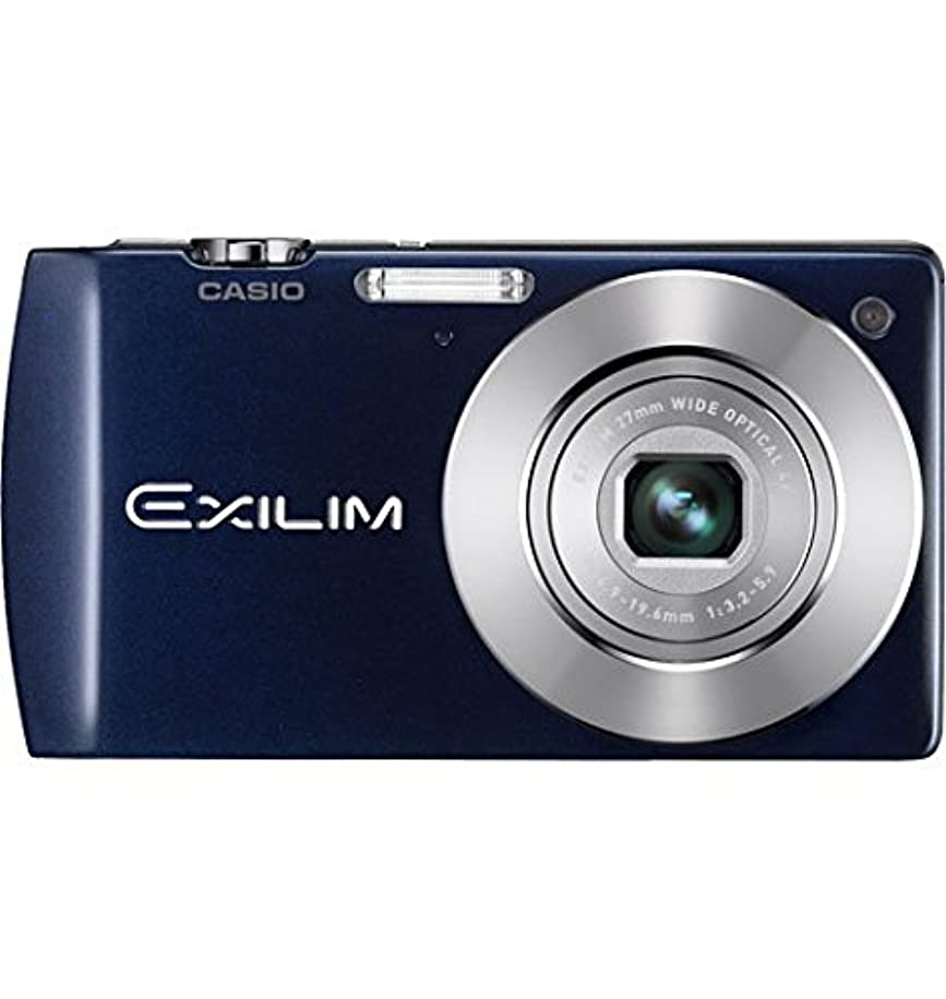 Casio EX-S200BE 14.1MP Digital Camera with 4x Optical Image Stabilized Zoom with 2.7 inch TFT LCD (Blue)