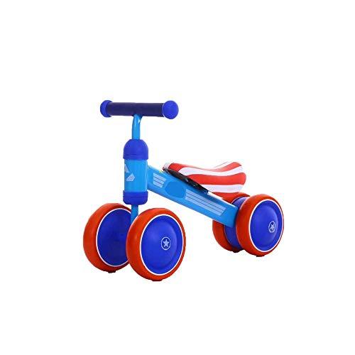 Find Cheap Liweibao Kids Balance Bike Baby High-Carbon Steel Balance Bikes No Pedal Four Wheel Sport...