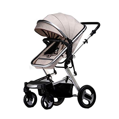 Best Price Ultra-Lightweight Stroller, Compact, Self-Standing Folding Design, Shopping Basket Single...