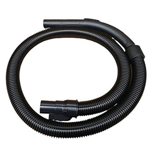 Ersatzschlauch schwarz für Multi-Zyklon Staubsauger Turbotronic CV05, Saugschlauch inkl. Bogen und Luftschieber