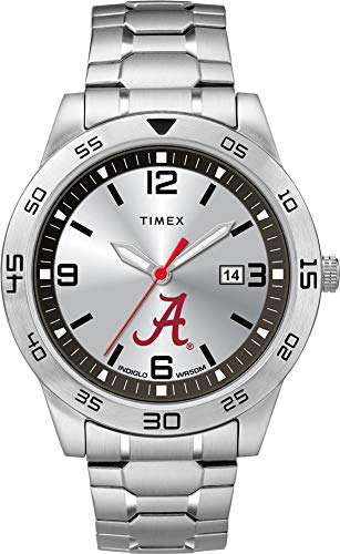 Timex Men's Alabama Crimson Tide Bama Watch Citation Steel Watch