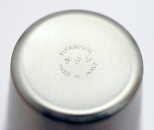 eve-mode純チタン製ビールカップ小つや消し仕上げ200cc