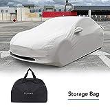 Farasla Outdoor Car Cover for Tesla Model 3 with Storage Bag