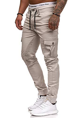 OneRedox Herren Chino Pants | Jeans | Skinny Fit | Modell 3207 Grau 29/32