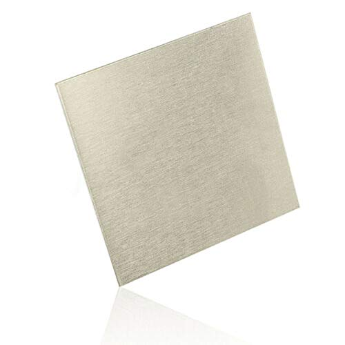 "Nickel Anode Sheet,Plating Nickel Anode N6/99.6% Pure 0.08""X2""X2""(2mmX50mmX50mm)"