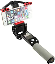 Wansong Automation Rotation Selfie Stick - 360 Degree Angle Adjustable, Self-portrait Monopod Extendable Wireless Bluetooth, Adjustable Phone Holder for for iPhone X 8 6 7plus, Android Samsung - Black