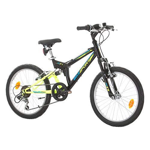 BIKE SPORT LIVE ACTIVE Solid Parallax 20 Zoll Mountainbike Fahrrad Mädchen Jungen Shimano 18 Gang