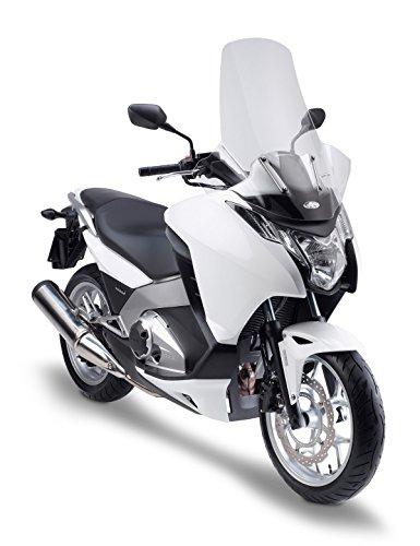 Kappa KD1109ST Transparente Windschutzscheibe mit Handschutz für Honda Integra 700 (Bj.12 > 13), Honda Integra 750 (Bj.14), Maße: 72 x 69 cm (H x L)
