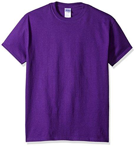 Gildan Men's G2000 Ultra Cotton Adult T-shirt, Purple, XX-Large