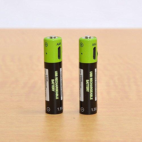 充電器不要!USB充電できる乾電池 サンコーレアモノショップ (単4形2本セット)