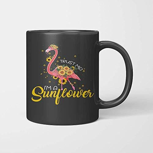 Taza Flamingo Trust Me I 'm A Sunflower Lover
