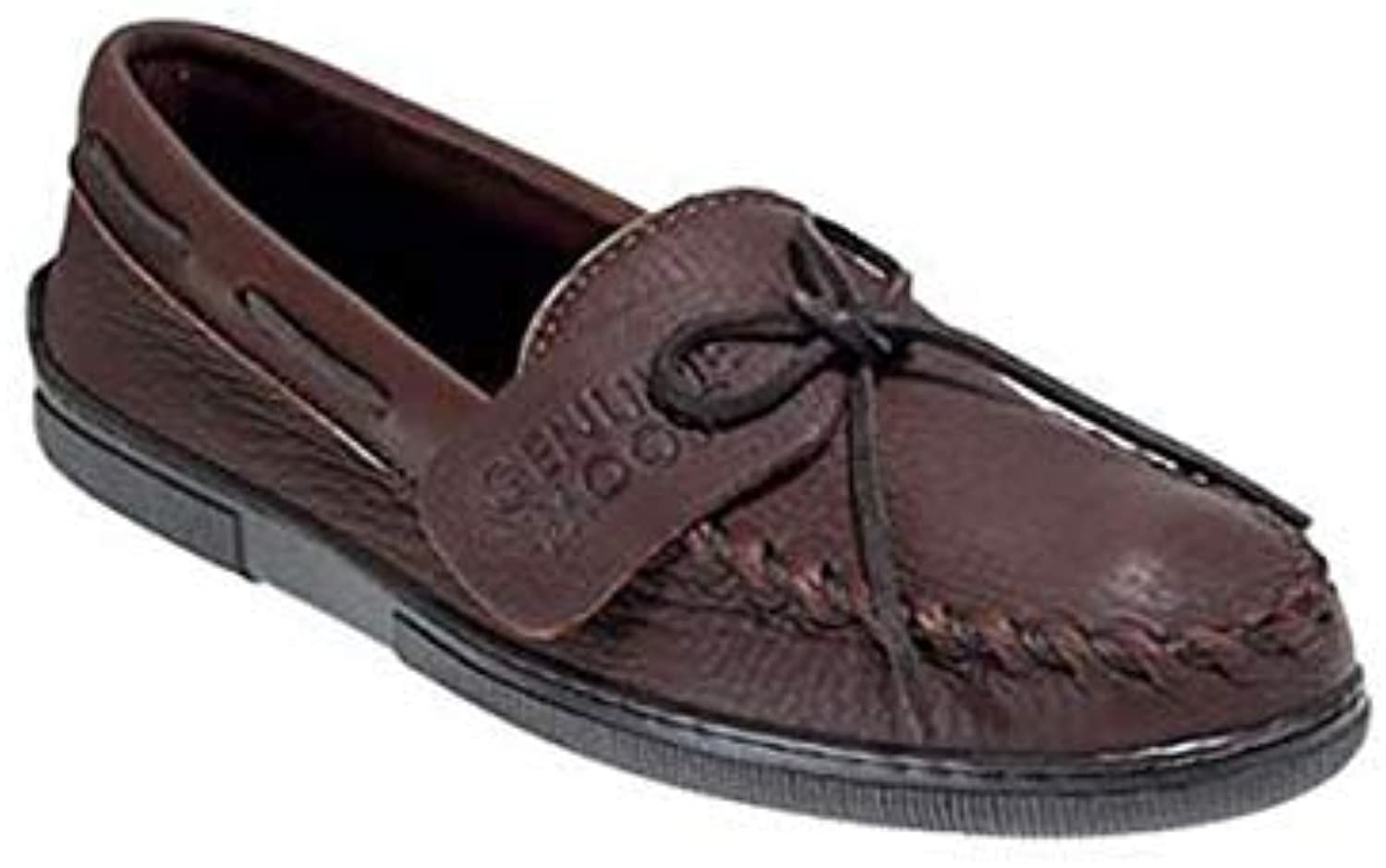 Men's Minnetonka Moccasins ( 892)   color Chocolate Moose   Men's Slip-On Moccasin