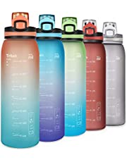 Opard Drinkfles Sport 900 ml - waterfles van Tritan BPA-vrij, lekvrije sportfles voor kinderen, sport, fitness, fiets, voetbal, outdoor