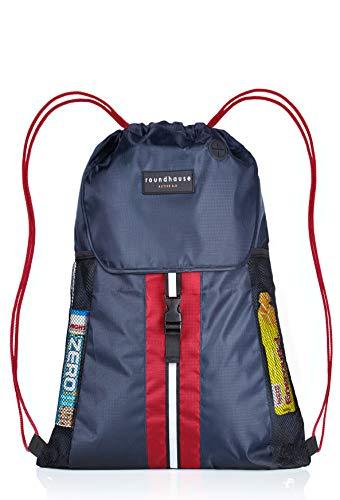 Premium Quality 5 Pocket, Wasserdichte, Turnbeutel Hipster Unisex Sporttasche Rucksack Schwimmen Sackpack...