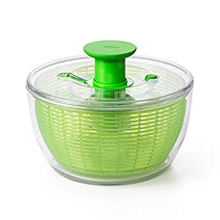 OXO 1155901 Good Grips Salad Spinner, Green,Large (B001QTVT4A) | Amazon price tracker / tracking, Amazon price history charts, Amazon price watches, Amazon price drop alerts