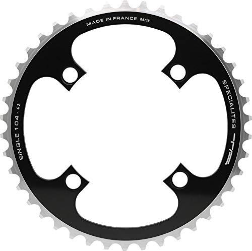 T + A TA Kettenblatt Single 46 D: 104 außen/innen schwarz Fahrrad