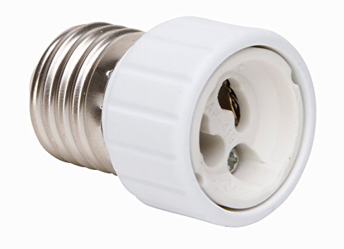 Kopp 216000030 - Adattatore da E27 a GU10, colore: Bianco