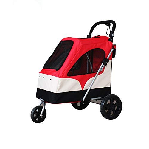 NYJ Hundetransporter, Trolley, Anhänger, sportlich. Pet Buggy, Kinderwagen, Kinderwagen für Hunde und Katzen