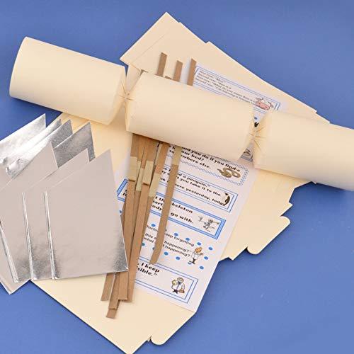 Marfil hacer y llenar sus propias galletas Making Craft Kits, juntas y accesorios, crema, Kit To Make 8 Crackers