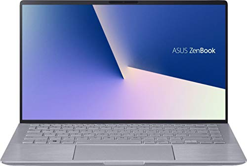 ASUS Zenbook 14 Laptop - AMD Ryzen 5-8GB RAM - NVIDIA GEFORCE MX350-256GB SSD - Win 10, Light Gray