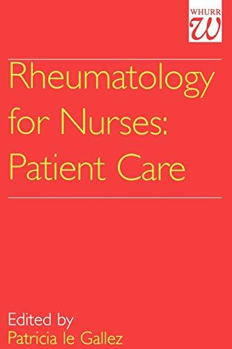 Rheumatology for Nurses: Patient Care