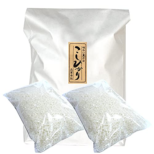 [無洗米] 高橋さんの棚田米 新潟県産コシヒカリ 2kg(1kg×2袋) 奥胎内山麓米 令和3年度 新米