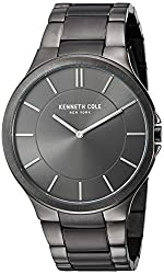 """top 10 kenneth cole bands Men's Watch Kenneth Cole New York KC9109 Stainless Steel """"Slim Trip"""""""