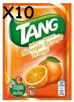Cmagic Tang naranja 10bolsitas de 30g 10litros), total con Vitamines A B2C y ácido folique