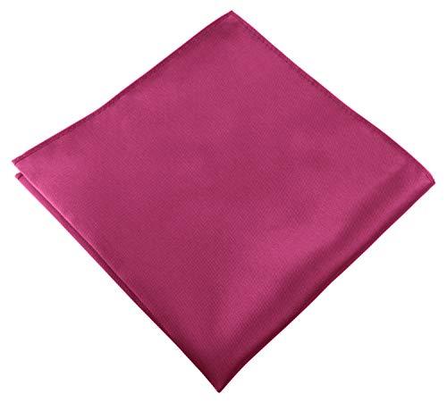Helido Pañuelo de bolsillo, 30 x 30 cm (Rosa oscuro)