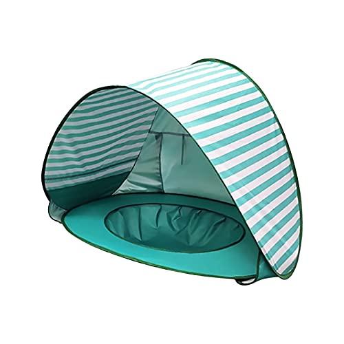 Shanshu Bebé Niños Playa Tienda de Protección Piscina Impermeable Pop-up Toldo Tienda Niños al Aire Libre Camping Parasol